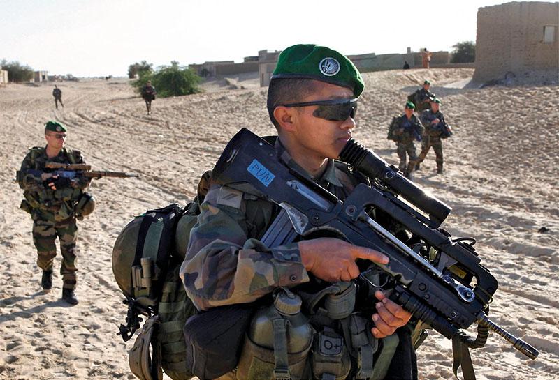 Die Fremdenlegion im Einsatz © French Army