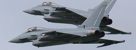 Eurofighter Typhoon des Bundesheeres © Doppeladler.com