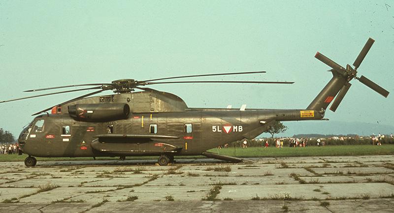 5L-MB bei einem Flugtag am Fliegerhorst Brumowski im Jahr 1975 / 5L-MB at an airshow at Brumowski Air Base in 1975 © BMLVS/LuAufklSta