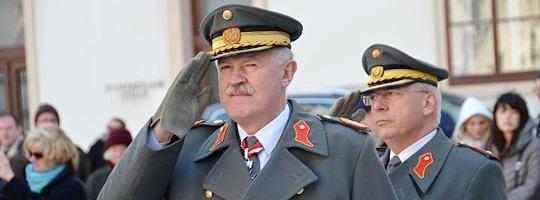 Generalstabschef General Edmund Entacher © rad2.at