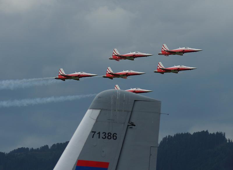 EK2 - Patrouille Suisse © Emilian