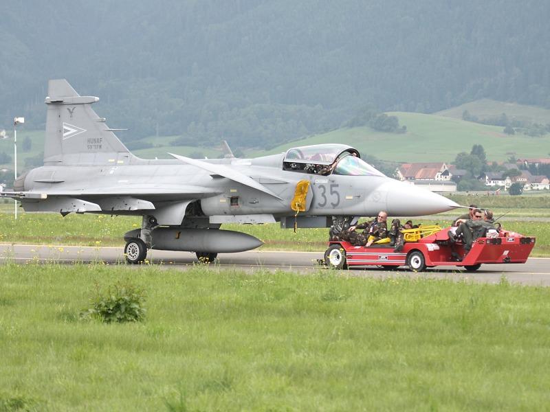 Saab JAS 39 EBS HU Gripen aus Ungarn
