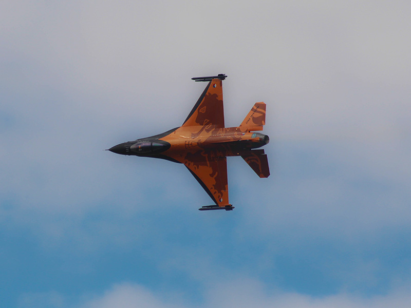 JR2 - Netherlands Airforce F16 © Jakob Rettenwender