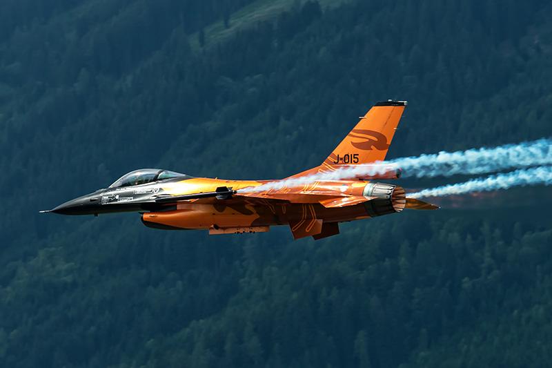 KR2 - F16 niederländische Luftwaffe © Karl Roth