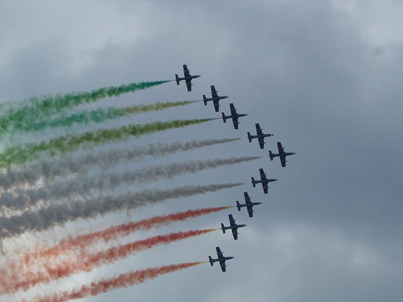 PM2 - Frecce tricolori © Peter Mulacz