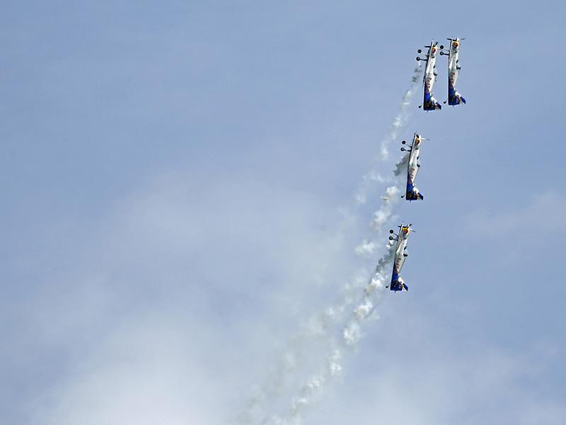 SM1 - Flying Bulls, Kraft eines Propellers © Siegfried Mock