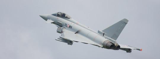 Eurofighter Typhoon der Österreichischen Luftstreitkräfte auf der AIRPOWER13 in Zeltweg © Doppeladler.com