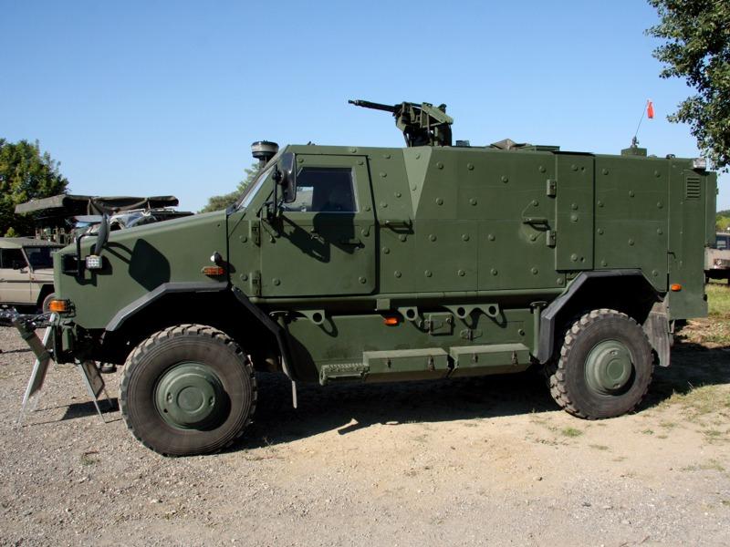 AC-Aufklärungsfahrzeug Dingo 2