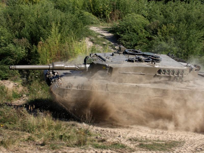 Kampfpanzer Leopard 2A4
