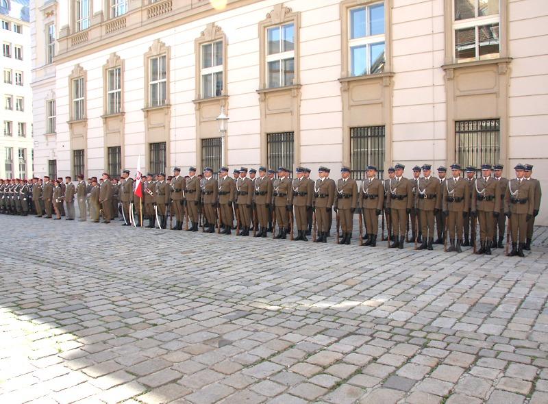 Polnische Ehrenkompanie © Doppeladler.com