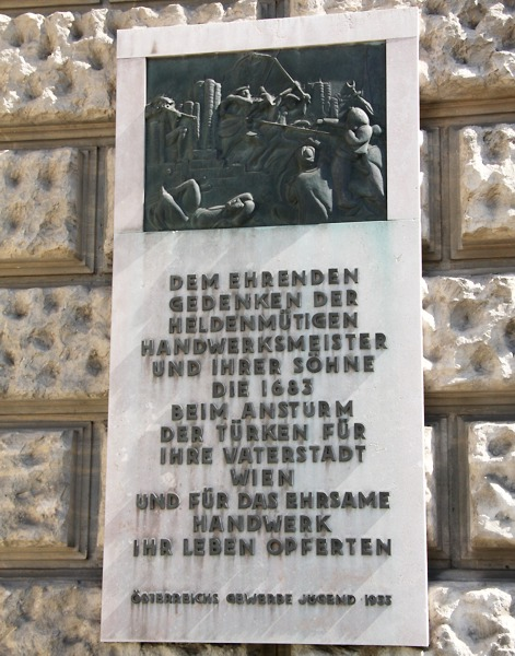 Gedenktafel am Heimweg - Löwelstraße 20 © Doppeladler.com