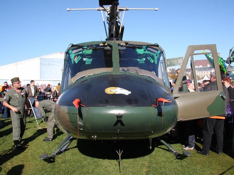 Die Agusta Bell AB-212 durchlaufen derzeit ein Upgrade © Doppeladler.com