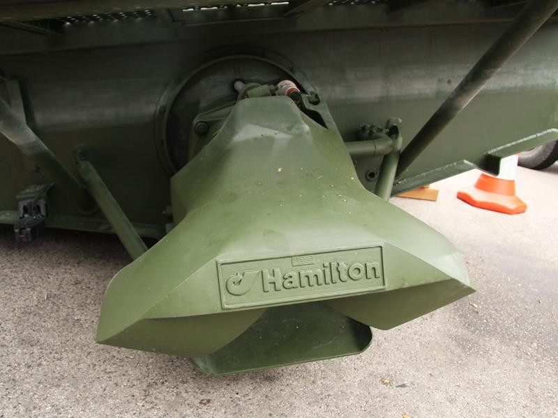 Der Jet-Antrieb von Hamilton bringt die 266 PS eines Steyr Motors ins Wasser © Doppeladler.com