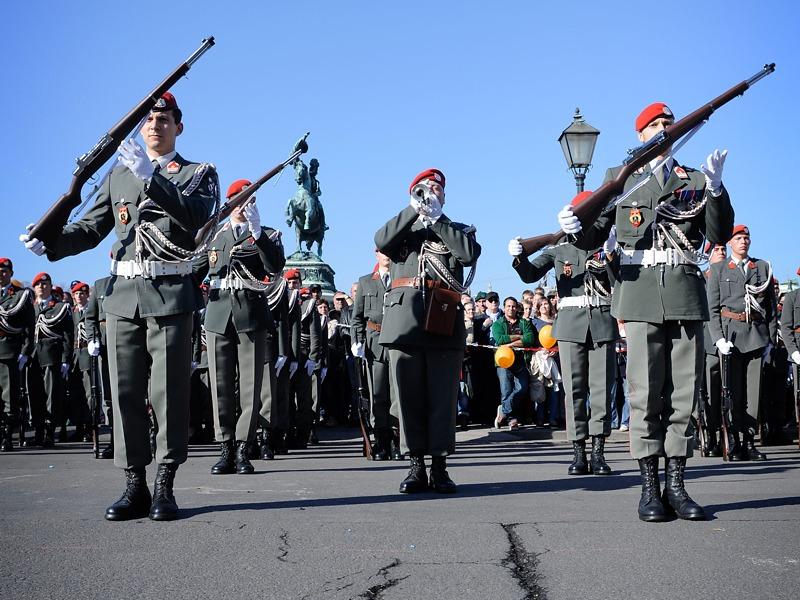 Show-Exerzieren der Garde © Bundesheer