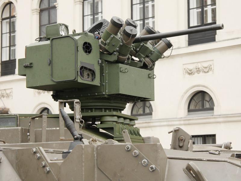 Es handelt sich um die gleiche ORCWS-M wie beim Iveco LMV © Doppeladler.com