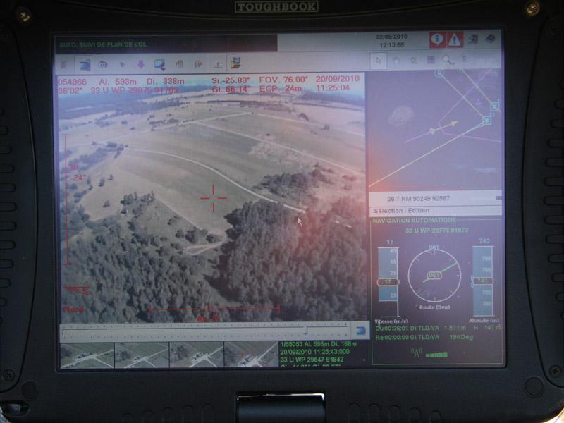 Zoom auf die Bildschirmanzeige © Doppeladler.com