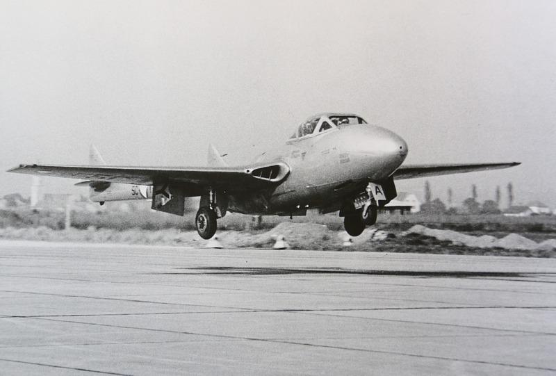 Mit der De Havilland DH 115 Vampire begann in Graz das Jet-Zeitalter © Hainzl