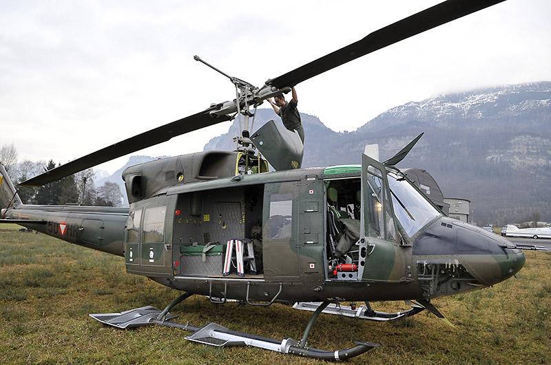 Agusta Bell AB-212 © Bundesheer