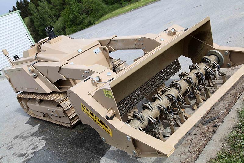 """""""Minenräumsystem leicht"""" bei der Ausbildung in Allentsteig © Bundesheer"""