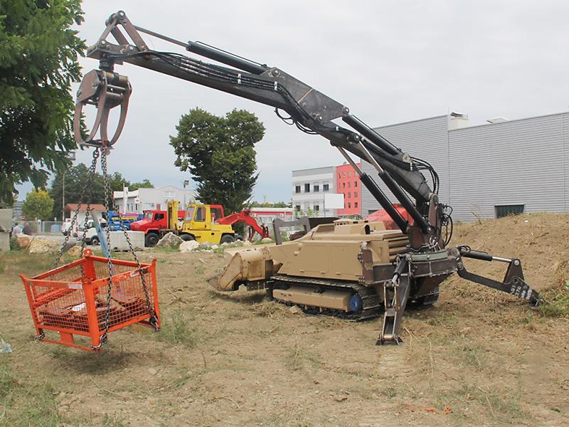 Roboterarm - von Bundesheer beschafft © DOK-ING