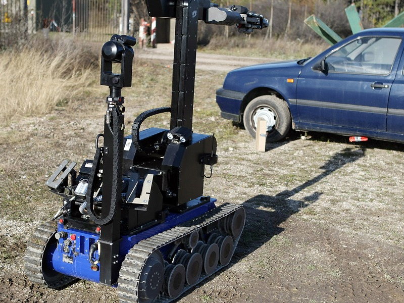 "Entminungsroboter ""tEODor"" der Kampfmittelbeseitiger des Bundesheeres © Bundesheer"