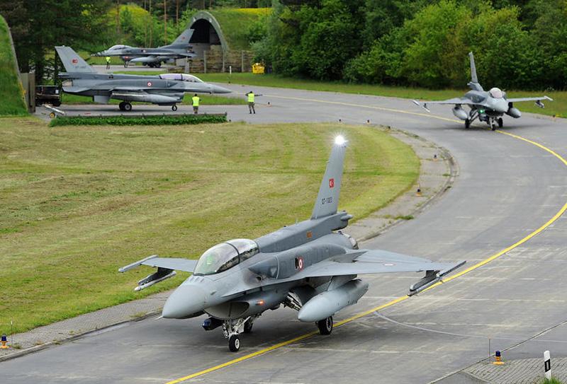 Türkische F-16 Jets in Wittmund © Luftwaffe