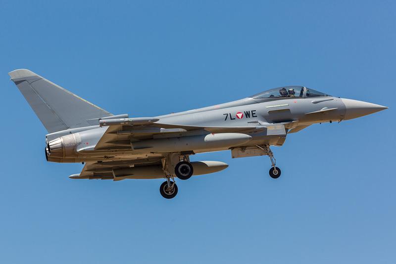 Eurofighter Typhoon 7L-WE © Onnis Gian Luca