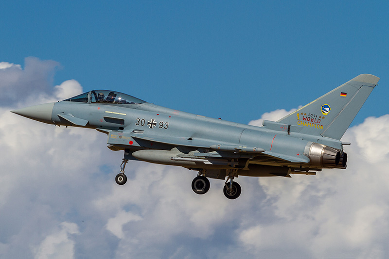 Eurofighter Typhoon 30+93 der Deutschen Luftwaffe © Onnis Gian Luca