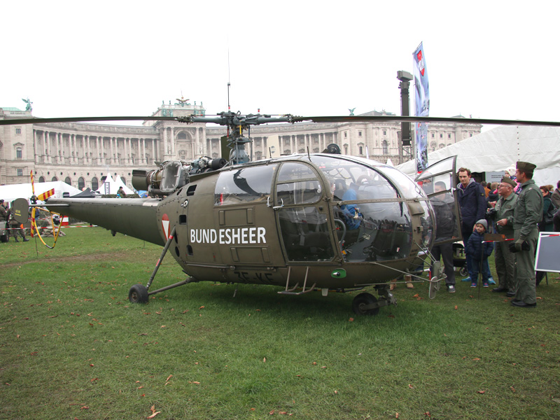 Sud-Aviation SA 316B Alouette III mit Kennung 3E-KE