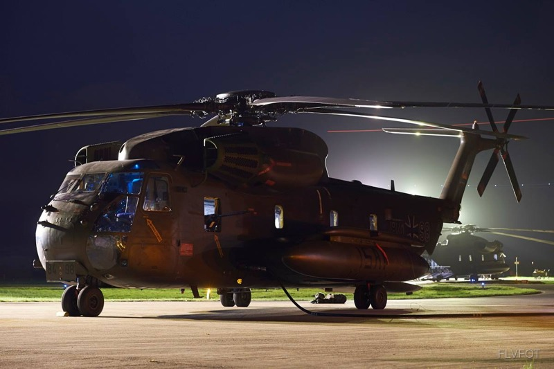 Deutscher Sikorsky CH-53GS mit Kennung 84+98 © FLVFOT