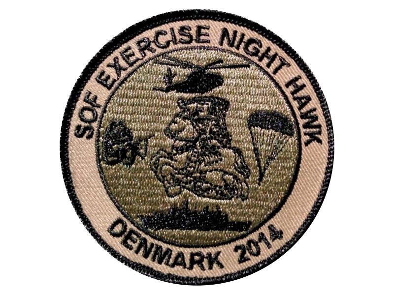 Patch der SOF Übung NIGHT HAWK 2014 © Internet
