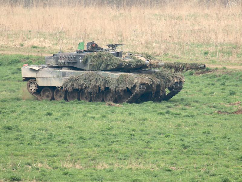 Kampfpanzer Leopard 2A6 der Bundeswehr © Doppeladler.com