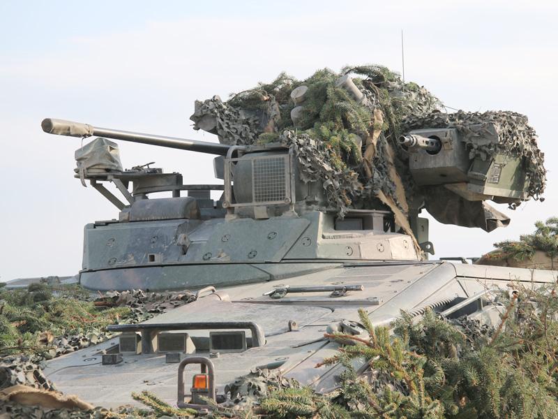 Turm des Marder mit 20 mm Kanone und 7,62 mm MG © Doppeladler.com