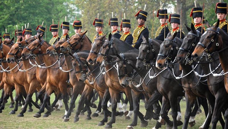 Kings Troop Royal Horse Artillery (KTRHA) © Crown Copyright 2013
