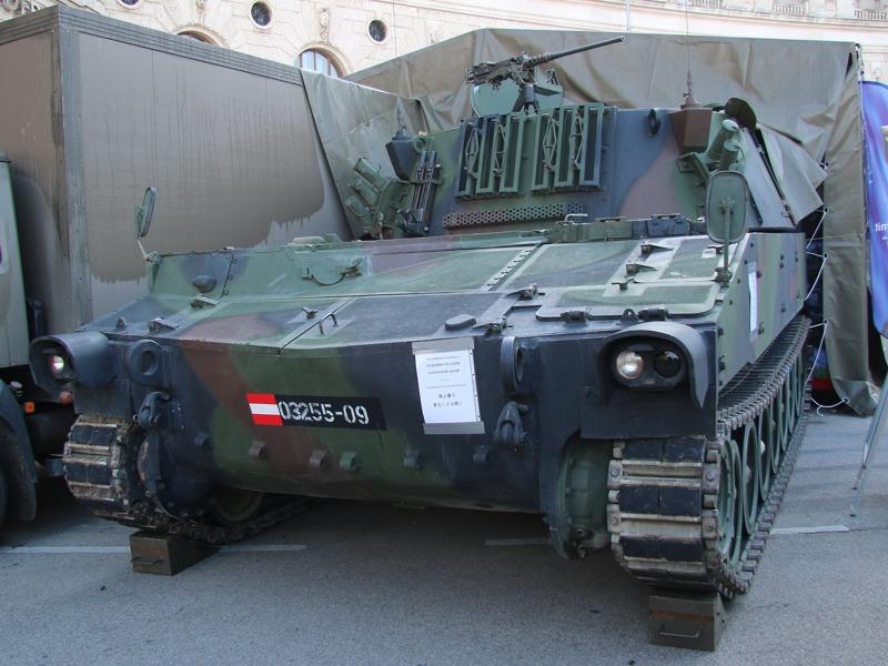 Zur Befehlsstelle umgebauter Rechenstellenpanzer M109 © Doppeladler.com