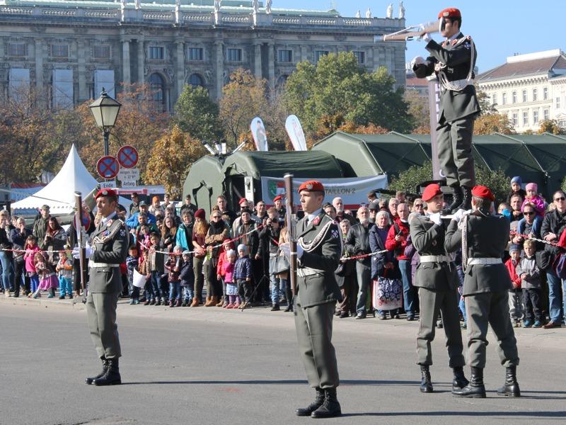 Vorführung des Kaders der Garde © Doppeladler.com