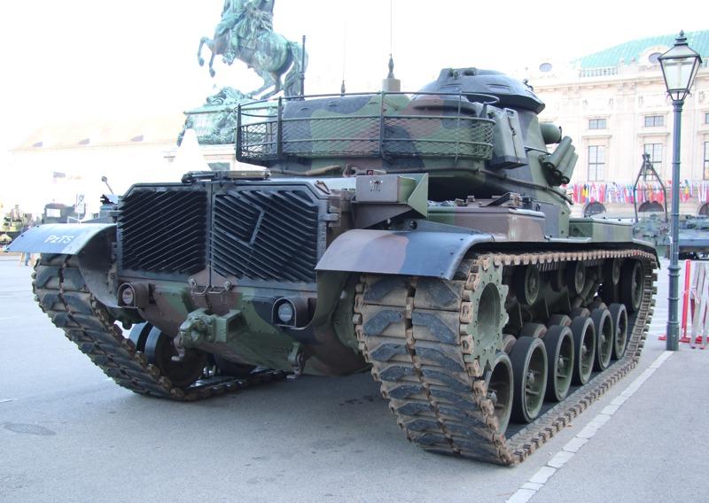 Kampfpanzer M60A3Ö © Doppeladler.com