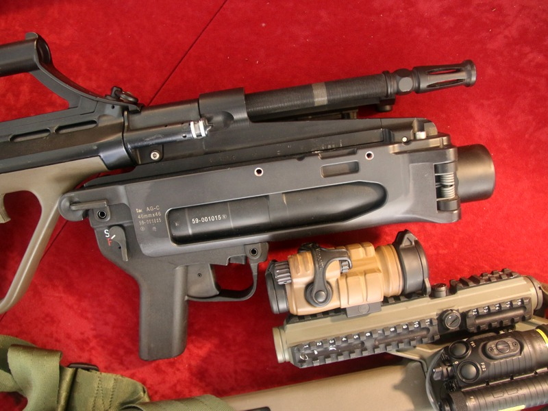 StG-77 mit 40 mm Granatwerfer AG-C © Doppeladler.com