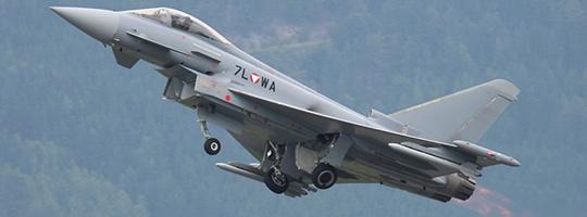 Eurofighter Typhoon bei der AIRPOWER13 © Doppeladler.com
