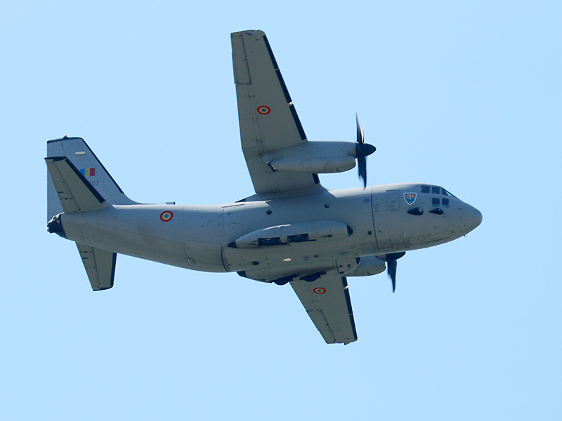 Alenia C-27J Spartan 2707 der rumänischen Luftwaffe © Doppeladler.com