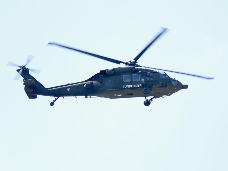 Sikorsky S-70A-42 Black Hawk 6M-BC des Bundesheeres © Doppeladler.com