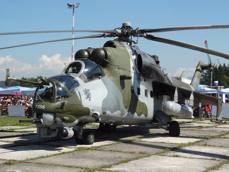 Mil Mi-24V Hind 7356 der tschechischen Luftwaffe © Doppeladler.com
