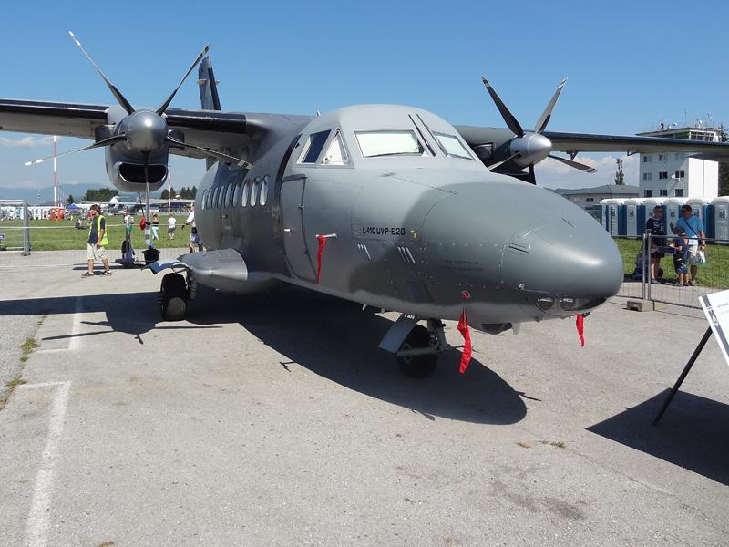 Let L-410 Turbolet der slowakischen Luftwaffe © Doppeladler.com