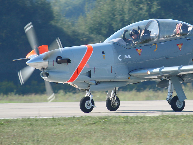 Orlik Aerobatic Team aus Polen auf PZL-130 TC-II Orlik © Doppeladler.com