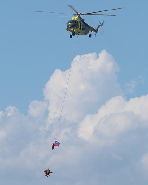 SAR-Hubschrauber Mil Mi-17 (0820) der slowakischen Luftstreitkräfte © Doppeladler.com