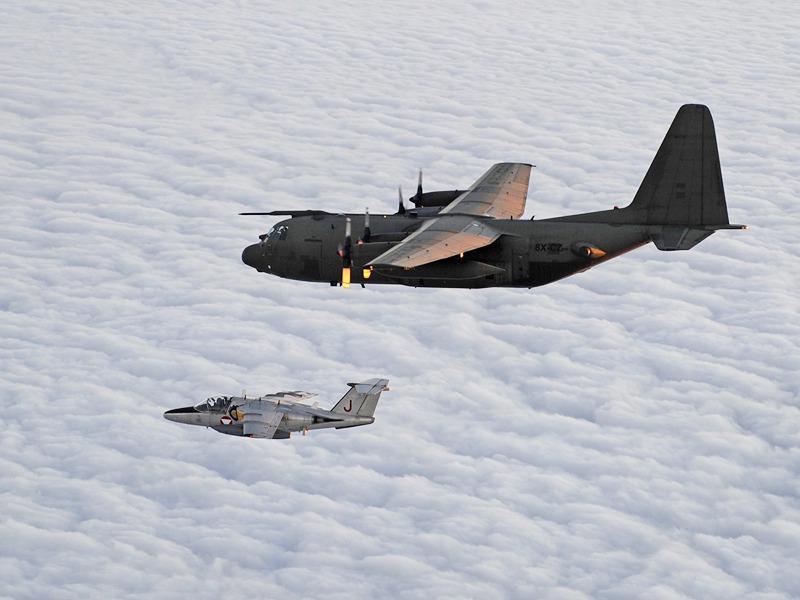XV295 beim ersten und letzten Flug als 8X-CZ © Bundesheer