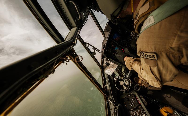 Im Cockpit einer österreichischen C-130 © Bundesheer