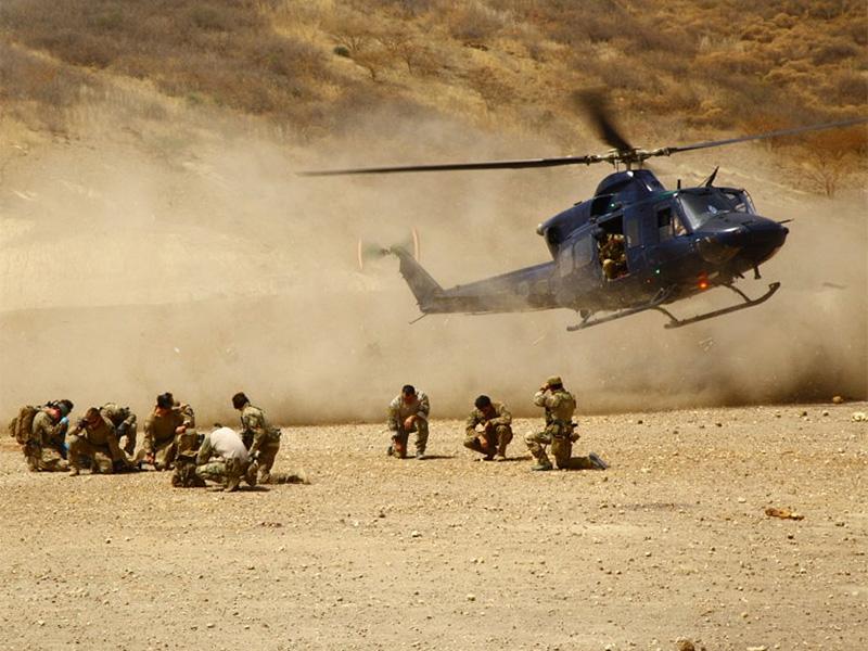 MEDEVAC Ausbildung durch Kanada und USA © US Army