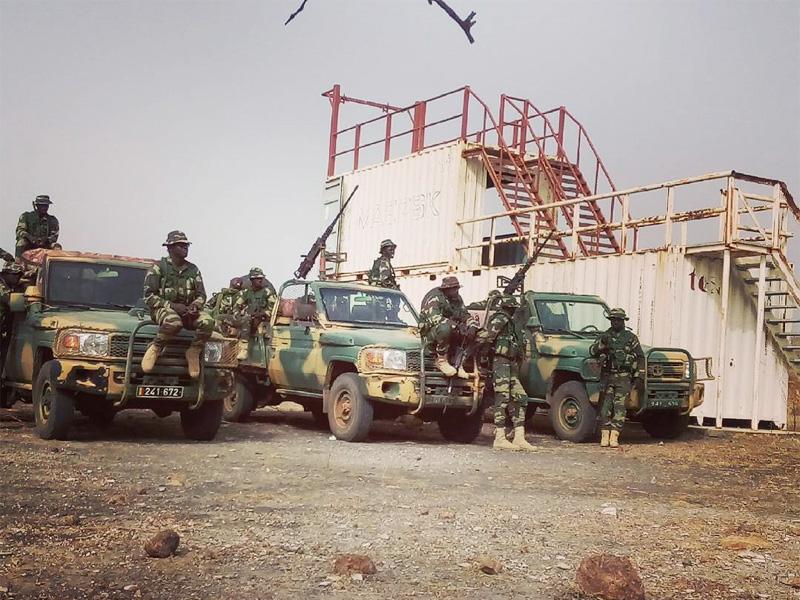 ToyotaWars - auch die Spezialeinsatzkräfte Afrikas setzen auf die robusten Pick-Ups © Internet