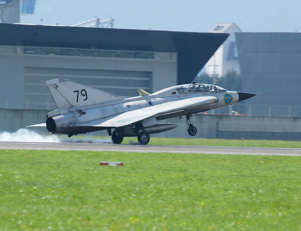 Saab Sk 35C Draken 79 © Doppeladler.com